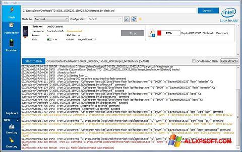 Ekraanipilt FlashBoot Windows XP