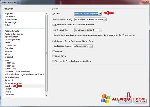 Ekraanipilt Adobe Reader Windows XP