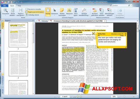 Ekraanipilt Nitro PDF Reader Windows XP