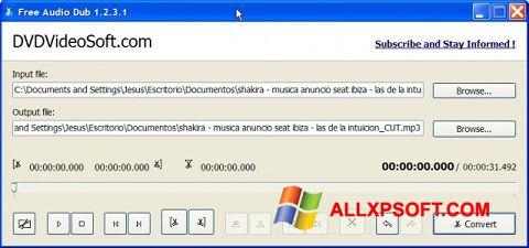 Ekraanipilt Free Audio Dub Windows XP