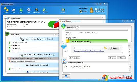 Ekraanipilt Driver Detective Windows XP