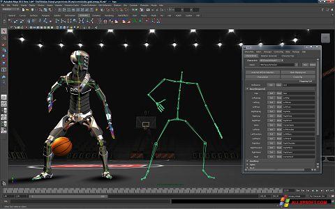 Ekraanipilt Autodesk Maya Windows XP