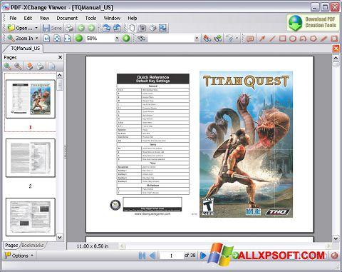 Ekraanipilt PDF-XChange Viewer Windows XP