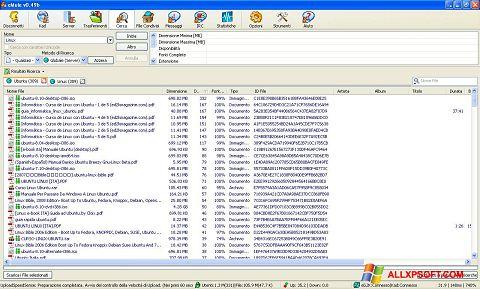Ekraanipilt eMule Windows XP