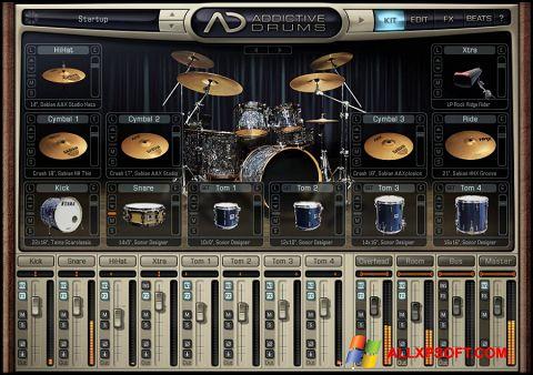 Ekraanipilt Addictive Drums Windows XP