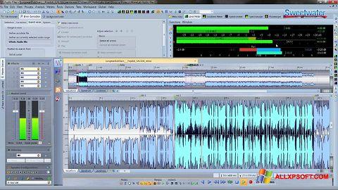 Ekraanipilt WaveLab Windows XP